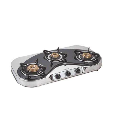 3 Burner Cooktop Elica Ct Mosaic 3b 75 3 Burner Cooktop Price In India
