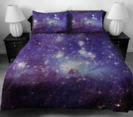 Galaxy Themed Bedroom Wow Who Knew Space Was So Comfy Galaxy Bedding Geekologie