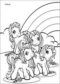 dibujos para colorear rainbow dash y otros ponies es