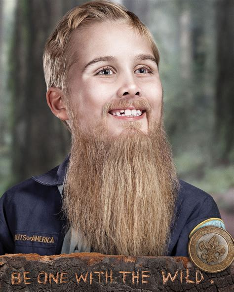 boy scouts haircuts photos new boy scout ad caign depicts boys with beards