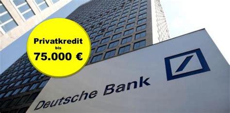 autokredit deutsche bank deutsche bank privatkredit