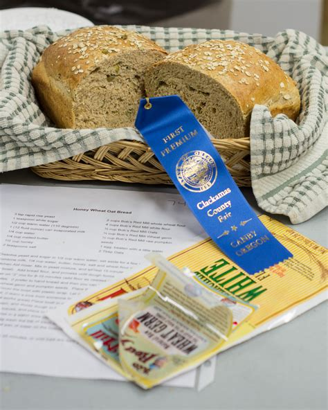 Blue Ribbon Breads blue ribbon honey wheat oat bread fresh from oregon