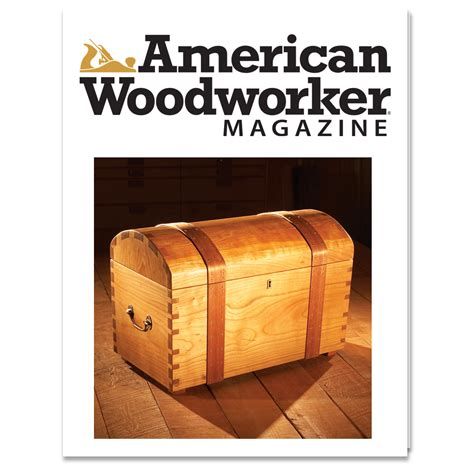 woodworker journal american woodworker magazine por new track media