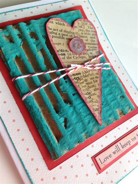 Handmade Dictionary - mixed media cardmaking crafts publishing