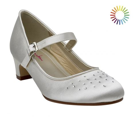 rainbow club verity white satin bar shoes shoes co uk