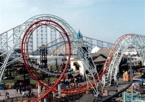 theme park near manchester pleasure beach blackpool