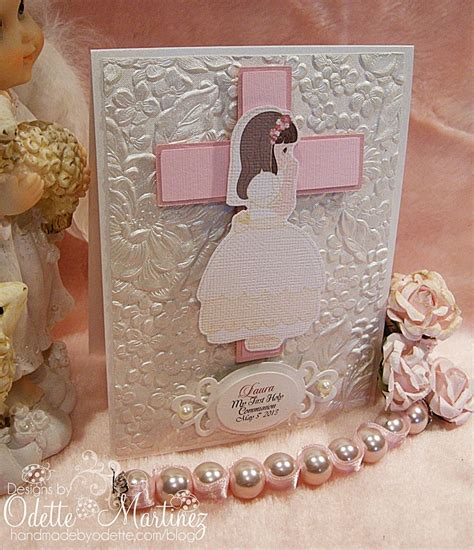 Handmade Communion Invitations - handmade by odette handmade odette