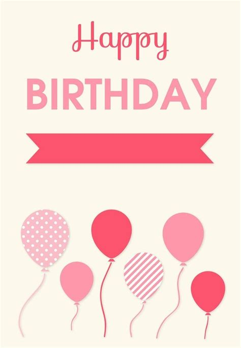 printable birthday cards for a teenage girl printable birthday cards for teenage girls