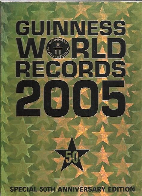 guinness world records 2005 first edition collectible books limited editions signed editions for sale