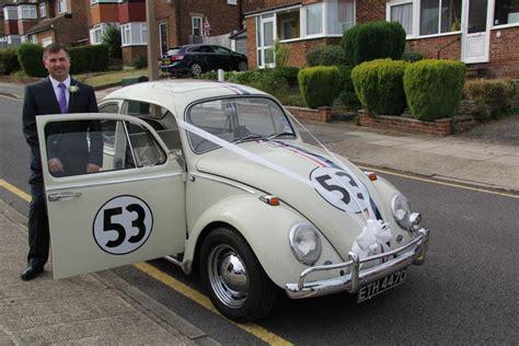 Wedding Car Volkswagen by Herbie Vw Beetle Wedding Car Wedding Car Hire Winchester