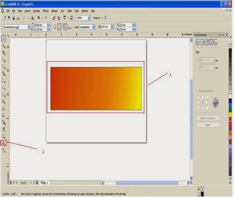 tutorial corel draw buat spanduk langkah langkah membuat spanduk dengan corel draw tugas