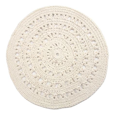 Tapis Rond Design 5528 by Carrelage Design Tapis Crochet Home Design Adolescent