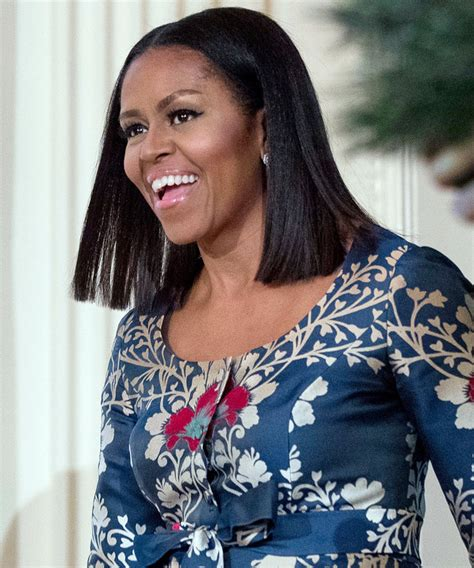 michelle obama haircut michelle obama just got the hottest haircut of the season