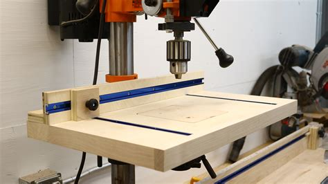 build a simple table how to build a simple drill press table the average