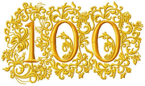 100th anniversary color abc designs anniversary numbers machine embroidery designs