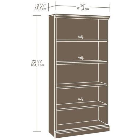 Sauder 5 Shelf Bookcase Black by Sauder Select Library 5 Shelf Estate Black Bookcase Ebay