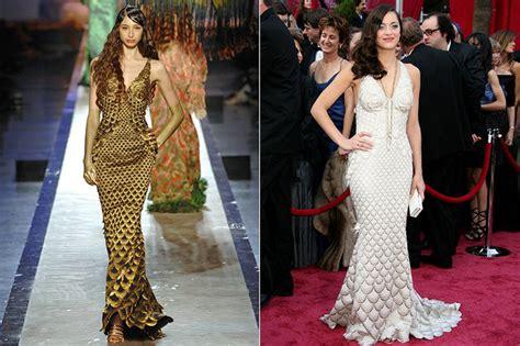 Oscar 2008 Trends In by 15 Herausragende Oscar Looks Direkt Vom Runway Auf Den
