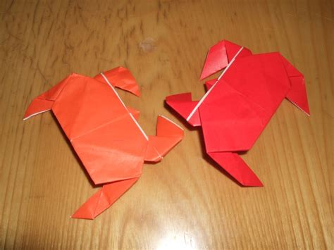 How To Make Paper Crab - 78 best images about origami fish on simple