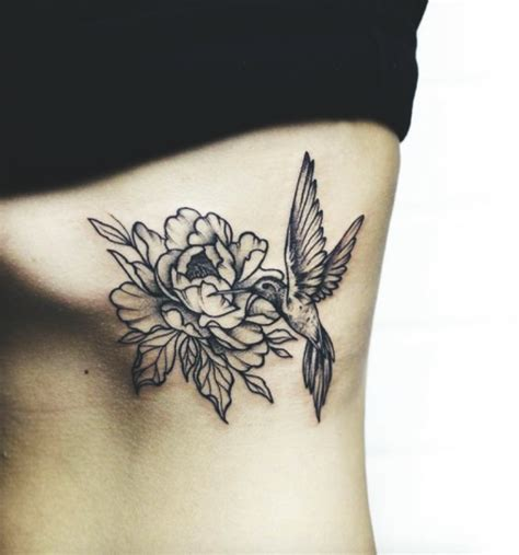 hummingbird with flower tattoo designs 20 stunning hummingbird ideas
