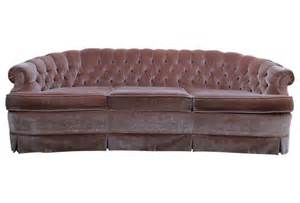 Pink Chesterfield Sofa 1960s Tufted Pink Velvet Chesterfield Sofa At 1stdibs