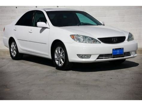 super white toyota camry xle v6 for sale | autos of asia