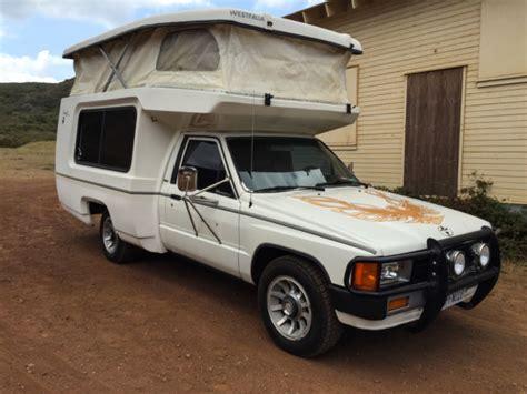 1984 Toyota Bandit Mini Camper RV 17' 22R pickup Rare!