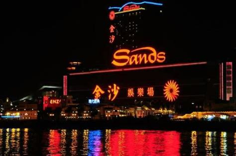casino boat hk sands casino macau viewing from ferry terminal just before