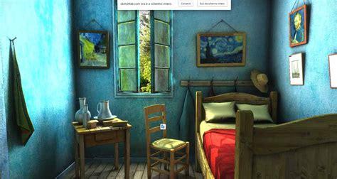 la da letto di gogh modello 3d della settimana da letto impressionista
