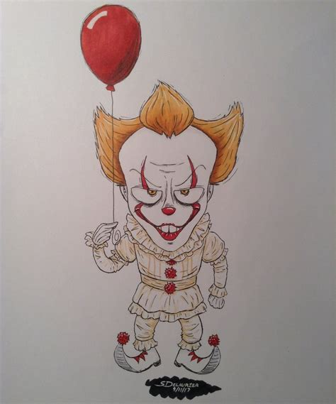 pennywise the dancing clown by pinkninjaotm on deviantart