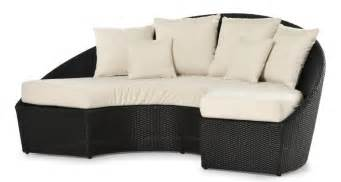 semi circular sectional sofa semi circular sofa woven for outdoor use idfdesign