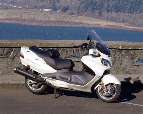 Suzuki An650 Burgman Suzuki An650 Burgman Gets Performance Upgrade With K N
