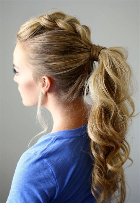 Updo Ponytail Hairstyles by Best Ponytail Hairstyles For 2017 And Mid