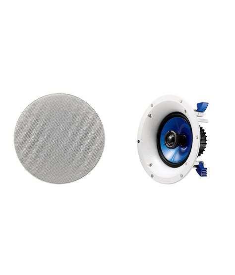 Yamaha 8 Inch Ceiling Speakers by Yamaha Ns Ic800wh In Ceiling Speakers With 8 Inch Woofer