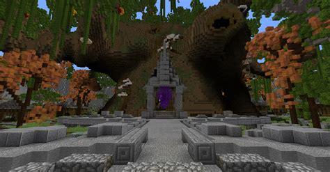 minecraft fantasy hub sanctum minecraft schematic