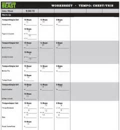 search results for body beast work out sheets calendar
