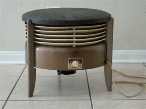 ottoman fan 12 quot vornado hassock fan youtube