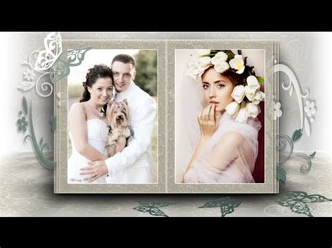 proshow producer cool wedding template doovi