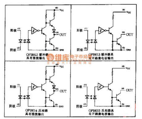 optical integrated circuit schematics optical coupler series applied circuit diagram sensor circuit circuit diagram seekic