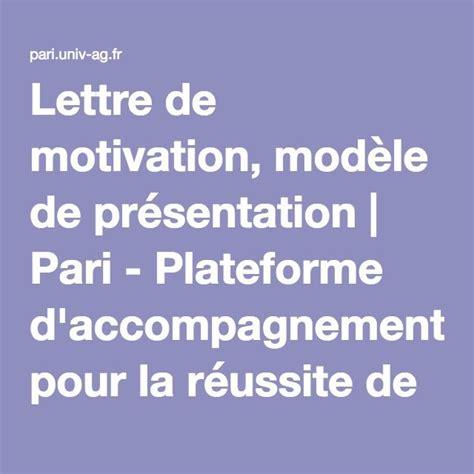 la lettre de motivation est les 25 meilleures id 233 es de la cat 233 gorie lettres de motivation sur conseils lettre de