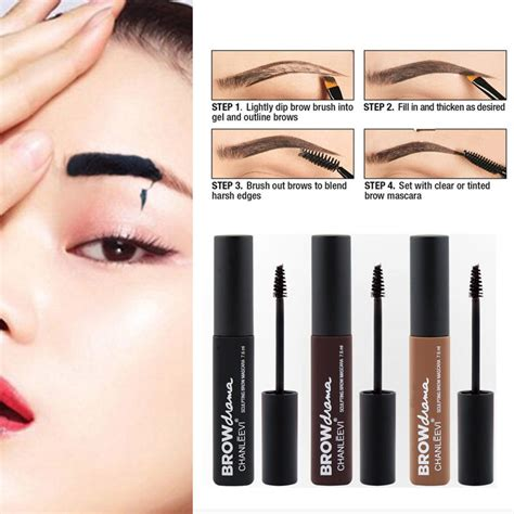 tattoo brow maybelline medium brown peel off eyebrow tattoo tint brow gel waterproof long