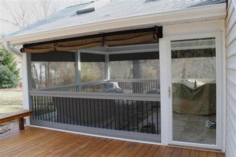 clear plastic curtains for screened porch best 25 roll up doors ideas on pinterest garage the