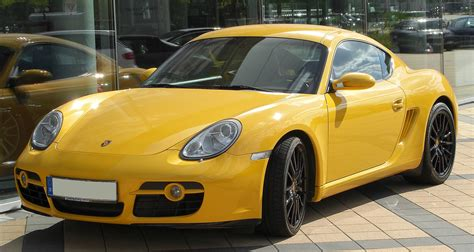 Porsche Typen by Porsche Cayman Typ 987c