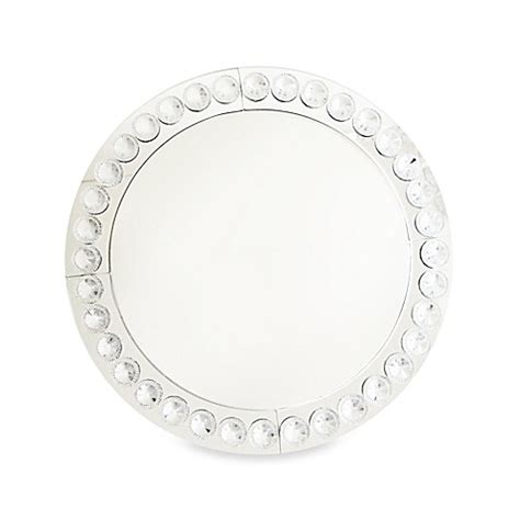 clear beaded charger plates clear beaded 13 inch charger plates set of 4 bed bath