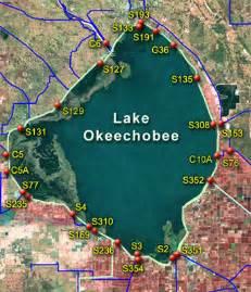 map of lake okeechobee florida l okee recession lake okeechobee area