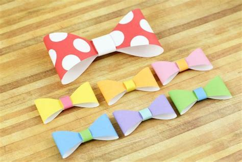 paper bow tie template printable bow tie template by waffle flower c craftsy