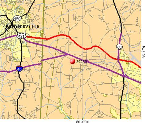 zip code map kernersville nc 27235 zip code greensboro north carolina profile