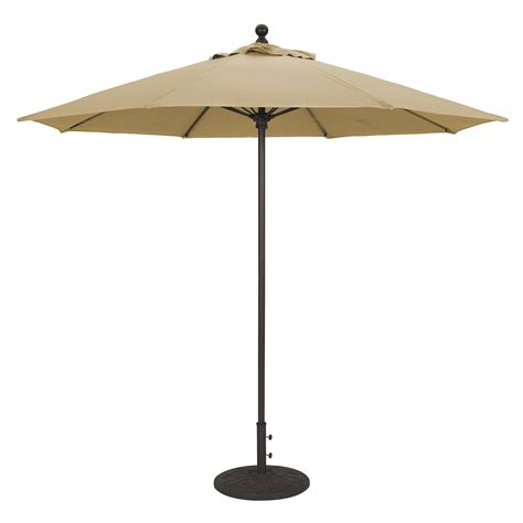 patio umbrella all aluminum patio umbrellas