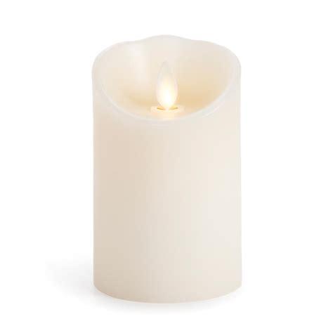 luminara candele luminara 174 flameless candles 4in vanilla scented pillar