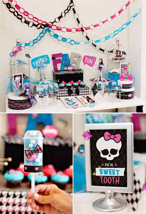 freaky ideas for the bedroom 25 best ideas about monster high decorations on pinterest
