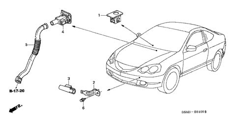 acura sensor assy ambient bernardi parts